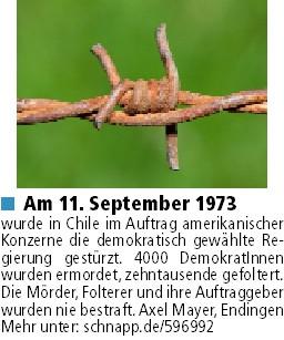 11 September 1973